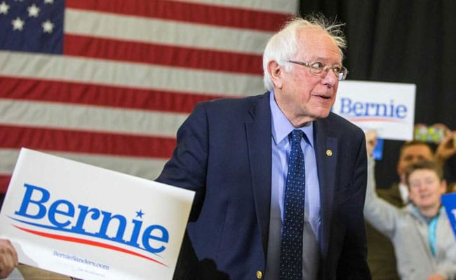 Bernie Sanders gets stitches after run-in with glass shower door