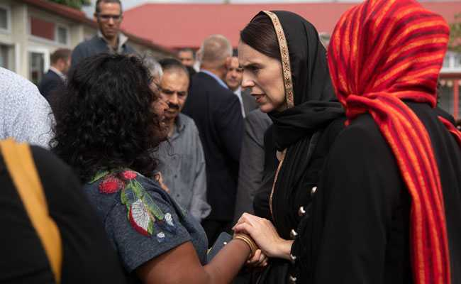 After New Zealand Attack, PM Jacinda Ardern Praised For 'Grace, Empathy'