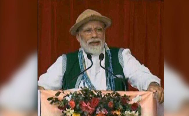 PM Modi Begins Poll Campaign In Northeast With Rallies In Arunachal, Assam: Highlights