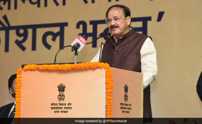 Pak Damaging Itself And Humanity By Aiding Terrorism: Venkaiah Naidu