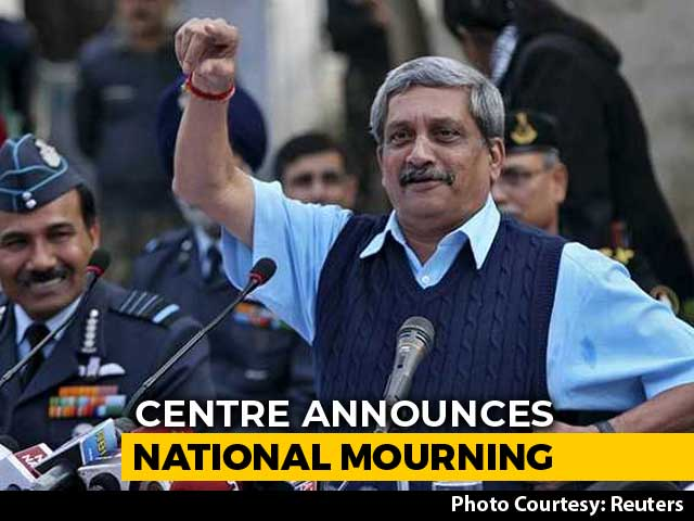 "Video : Chief Minister Manohar Parrikar Wanted To Serve Goa ""Till Last Breath"""