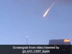 """Meteor"" In Los Angeles Sets Twitter Alight, Turns Out To Be A Film Shoot"