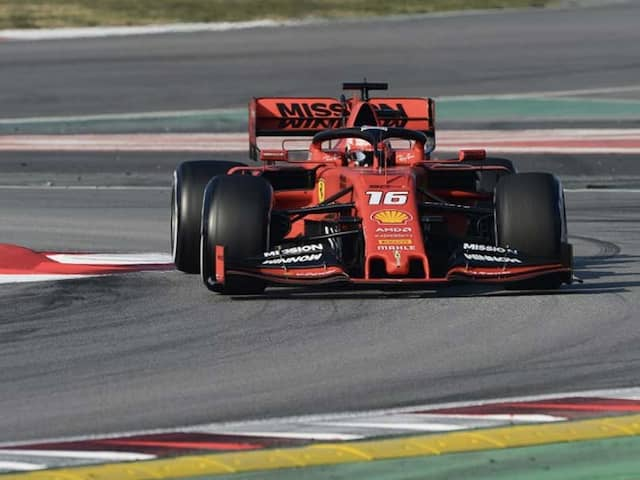 Charles Leclerc Takes Ferrari To Fastest Time Of Winter