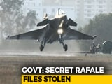 "Video : ""Secret"" Rafale Files Stolen, Illegal To Use Them: Centre To Top Court"