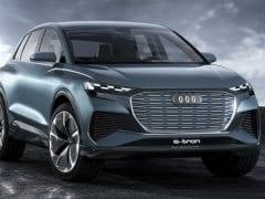 Geneva 2019: Audi Q4 e-Tron Concept Makes Public Debut