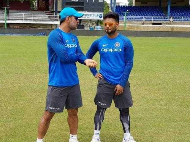 Thats why Rishbh Pant dont want compare with MS Dhoni