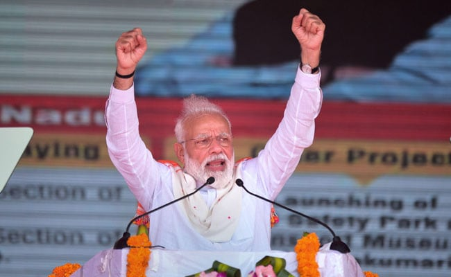 PM Modi To Visit Amethi On Sunday, His First Since 2014
