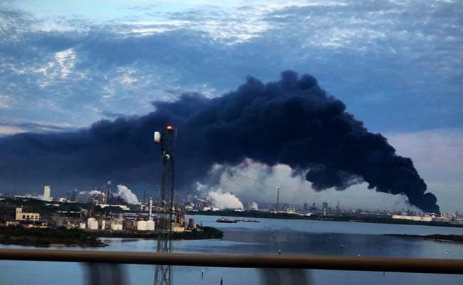 Massive fire at Texas chemical plant could burn 2 more days