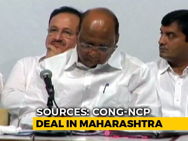 Video : Congress, Sharad Pawar's Party Finalise Seat-Sharing Formula: Sources
