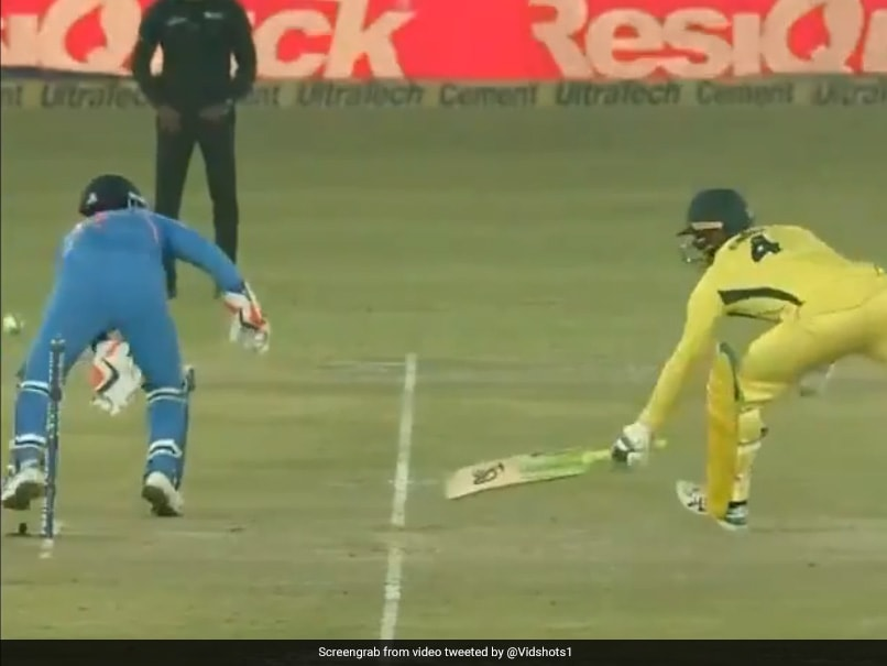 Watch: Virat Kohlis Reaction After Rishabh Pant Tries To Copy MS Dhonis No-Look Flick