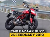 Video : Ducati Hypermotard 950, Hero Destini 125 vs TVS NTorq 125 & Benelli TRK 502