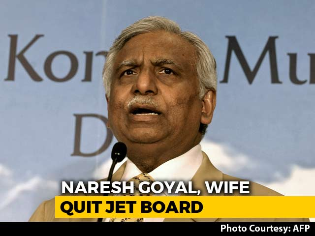 Video : Jet Airways Founder Naresh Goyal Resigns