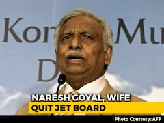 Video: Jet Airways Founder Naresh Goyal Resigns