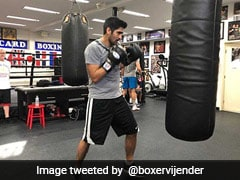 Vijender Injured During Training, US Professional Debut Postponed