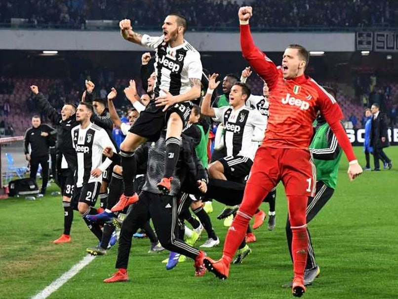 Juventus Put One Hand On Serie A Title After Squeezing Past Napoli