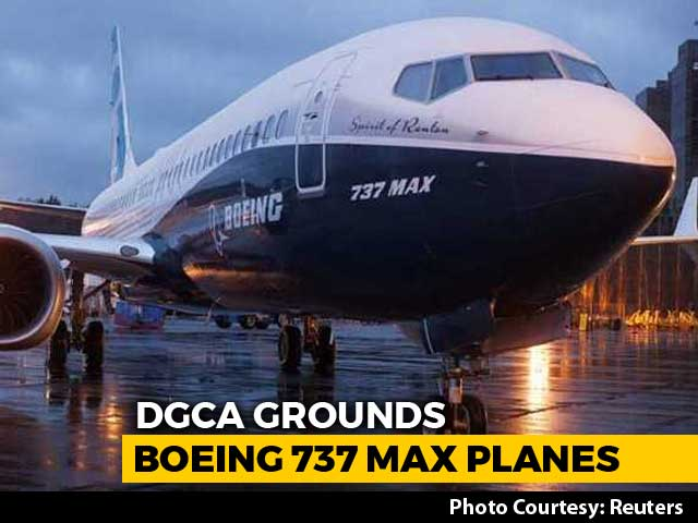 Video : Boeing 737 MAX 8 Aircraft Banned In Indian Airspace From 4 pm