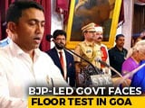 Video : Goa BJP Lawmakers Moved To 5-Star Resort Ahead Of Floor Test Today