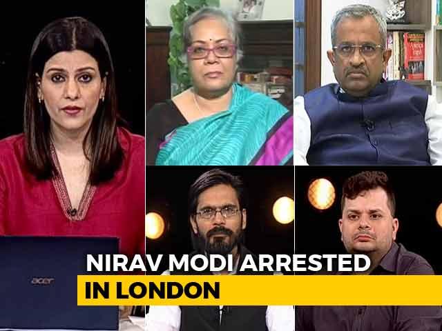 Video : Nirav Modi Arrested: Will India Finally Get Him Back?