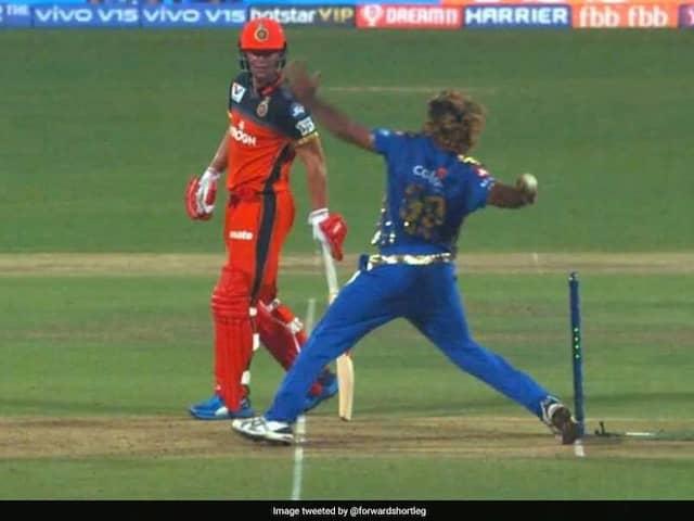 RCB vs MI: Twitter reacts on Mumbai Indians win despite Lasith Malinga bowling a no-ball