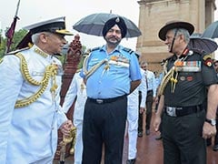 Air Force, Navy Chiefs Get Security Upgrade, Will Be In Z+ Category Now