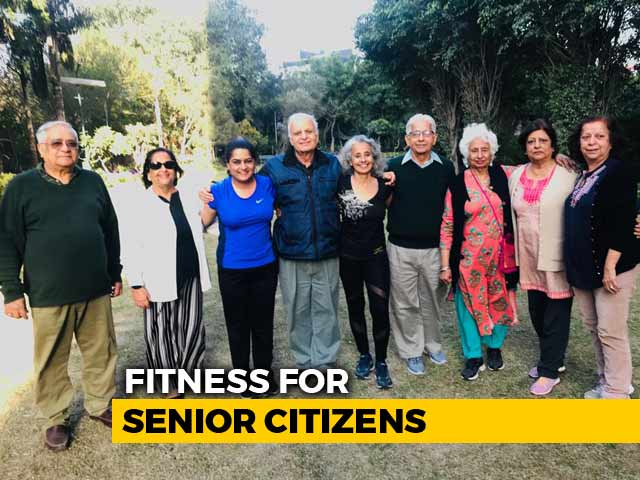 Video : Fitness For Senior Citizens