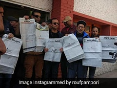 "Kashmir Papers Run Blank Front Page To Protest Move ""To Scuttle"" Media"