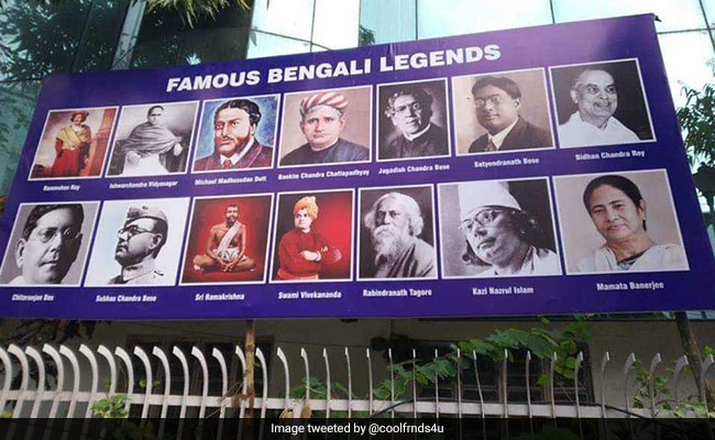 Mamata Banerjee's Photo Among 'Famous Bengali Legends' Sparks Outrage On Social Media