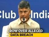 Video : Chandrababu Naidu's Party Accuses Rival TRS, Telangana Cops Of Data Theft