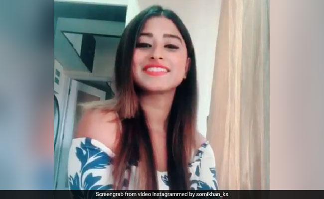 सोमी खान ने खुद ही पोस्ट किया इंस्टाग्राम Video, बोलीं- 'मैं ही क्यूं इश्क जाहिर करूं...'