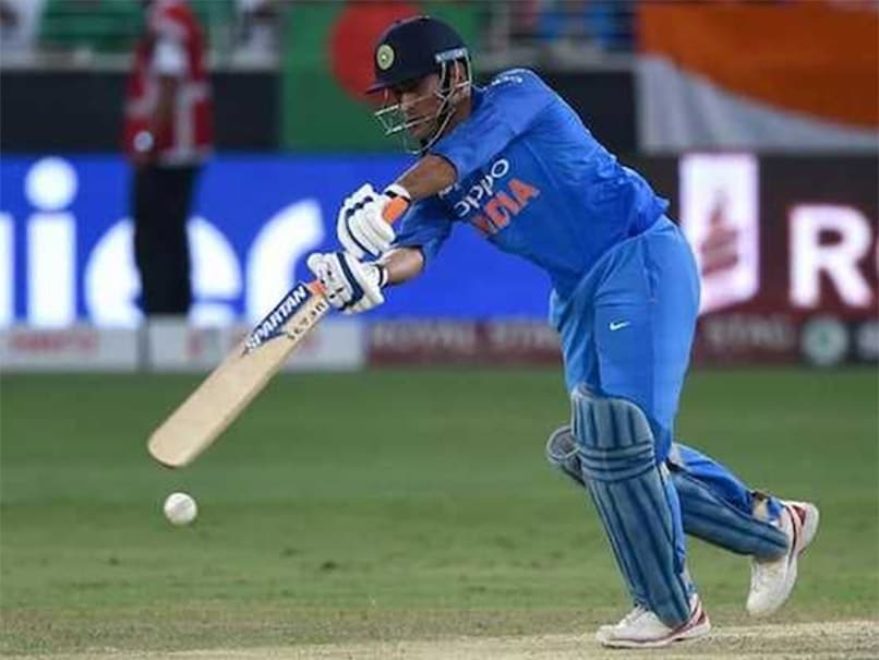 MS Dhoni 4th Indian batsman to score 13000 runs in List A cricket