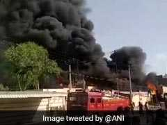 Massive Fire At Chemical Factory In Jodhpur, Several Fire Engines At Spot