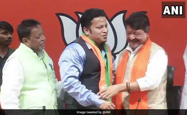 'Felt Politically Handicapped': Expelled Trinamool Lawmaker Joins BJP