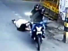 Delhi Biker Caught On CCTV Dragging 53-Year-Old Was Woman Dressed As Man