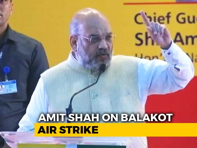 "Video : ""Over 250 Killed"", Says Amit Shah On Air Strike. No Official Figure Yet"