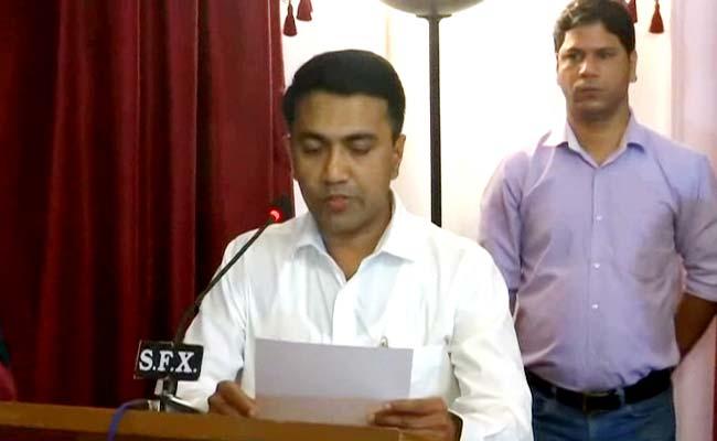 गोवा के मुख्यमंत्री प्रमोद सावंत बोले- 'मैं आज जो कुछ भी हूं, मनोहर पर्रिकर की वजह से ही हूं'