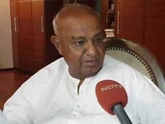 """Money Was Given, Given, Given!"": Deve Gowda On Lawmakers Switching Sides"