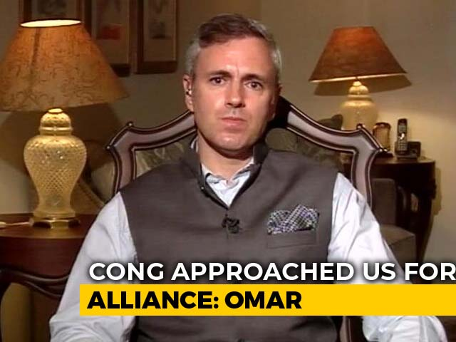 Video : On Alliance With Congress, Omar Abdullah Draws Line At Kashmir Valley