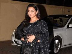 Be A Classic Beauty In A Black <i>Saree</i> Like Vidya Balan. 5 Chic Options