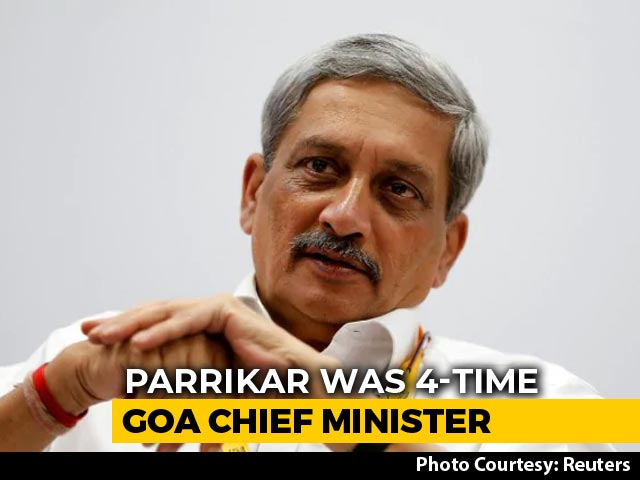 Video : Manohar Parrikar's Final Journey: Funeral Procession To Begin At 4 pm