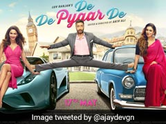 <I>De De Pyaar De</i> First Look: Ajay Devgn Recreates <I>Phool Aur Kaante</i> Stunt