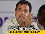 Video : After Delhi Leaders' No To AAP Tie-Up, Rahul Gandhi Wants Workers' Views