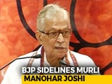 "Video : ""Told I Shouldn't Contest"": MM Joshi, Benched By BJP, Writes To Voters"