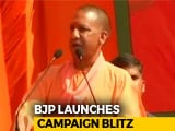 "Video : ""Masood Azhar's Kin"": Yogi Adityanath's Dig at UP Congress Candidate"