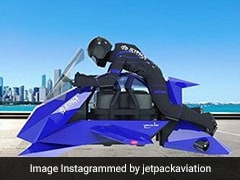 A US Company Says It's Building Flying Motorcycle Powered By Jet Engines