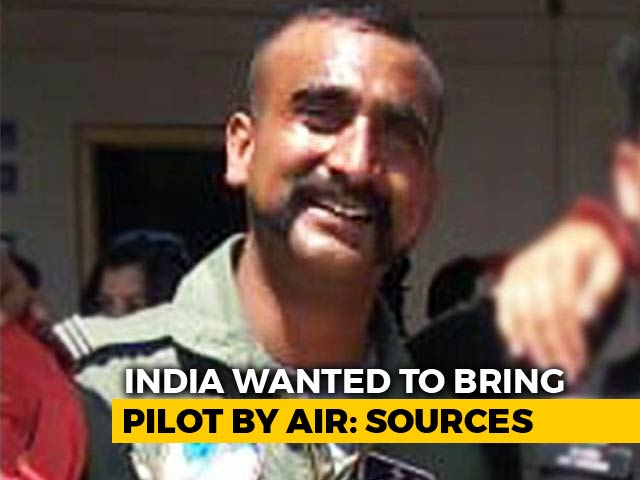 Video : India Wanted To Send Plane To Bring Back Pilot, Pak Refused: Sources