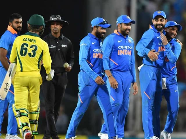 2nd ODI: Virat Kohli, Bowlers Shine As India Script Thrilling Win Against Australia