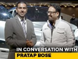 Video : In Conversation With Pratap Bose, VP, Global Design, Tata Motors