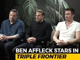 "Video: 'Triple Frontier' Star Ben Affleck, ""I Don't Believe In Robbing"""