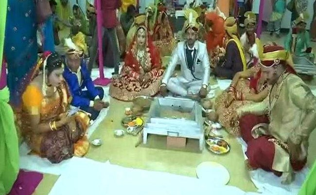 15 Transgender Couples Get Married At Mass Wedding In Chhattisgarh