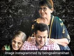 सलमान खान ने अपनी दोनों मम्मियों के साथ शेयर की फोटो, फैंस बोले- 'सुभान अल्लाह' - देखें Photos